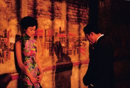 """Maggie Cheung (L) & Tony Leung (R) in Wong Kar Wai's """"In the Mood for Love"""" (2000)."""