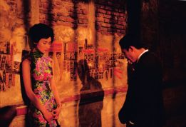 "Maggie Cheung (L) & Tony Leung (R) in Wong Kar Wai's ""In the Mood for Love"" (2000)."