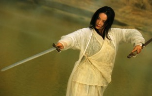 "Bridgette Lin turns out a stunning performance in Wong Kar Wai's ""Ashes of Time: Redux"" (2008)"