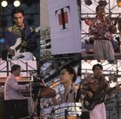 Clockwise, starting from upper right: Takeshi Itoh, Mitsuru Sutoh, Hiroyuki Noritake, Hirotaka Izumi and Masahiro Andoh, jamming in 1990. Good stuff!!!