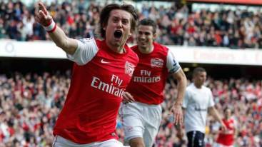 Tomas Rosicky's return to form was one of the highlights of the Gunners 2011 / 2012 Campaign.
